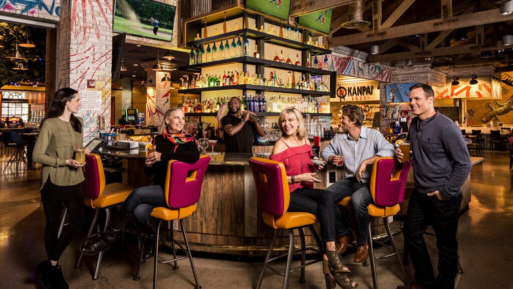 bar at Circus Circus Reno