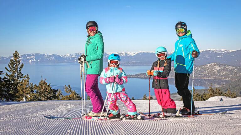 Diamond Peak ski