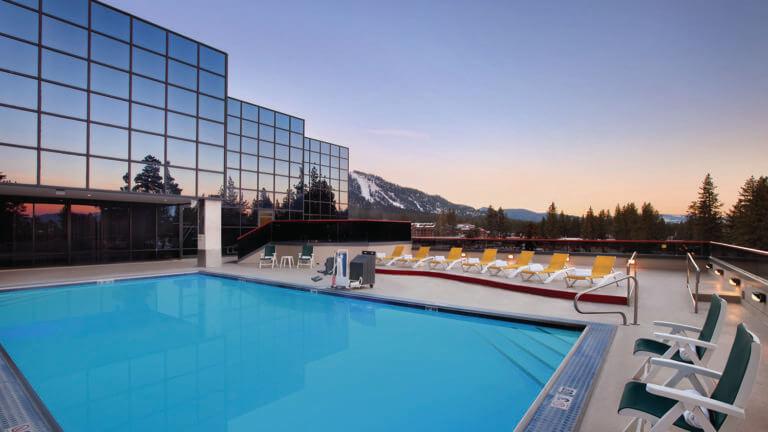 Harveys Lake Tahoe pool