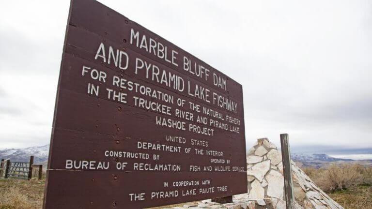 pyramid lake monument