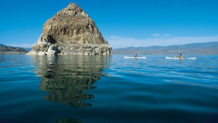 the pyramid lake pyramid