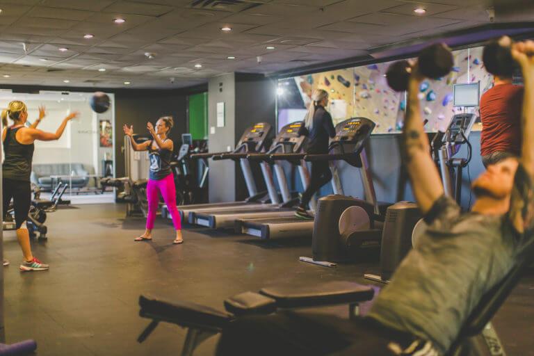 Whitney Peak Hotel fitness center