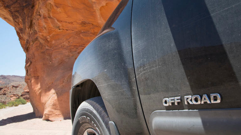 4 wheel drive vehicles are recommended in Gold Butte