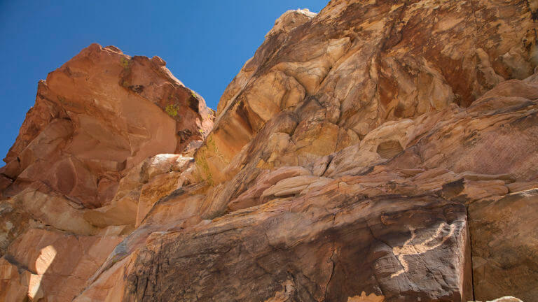 Falling Man in Gold Butte National Monument