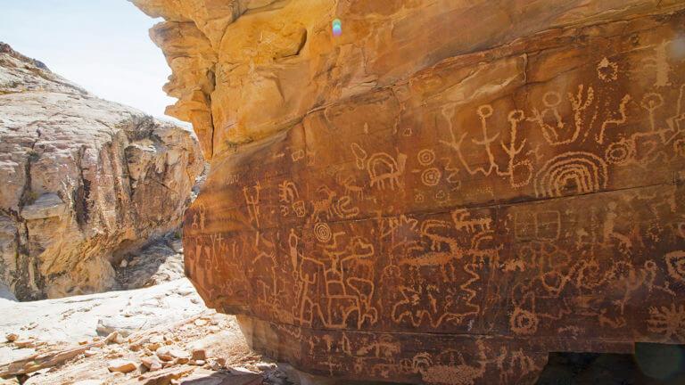Gold Butte National Monument Petroglyphs