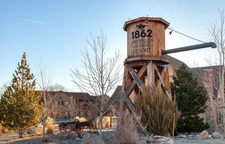 Walley's Hot Springs in Nevada