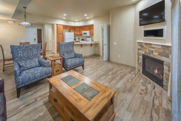 Walley's Resort Living Space in Nevada