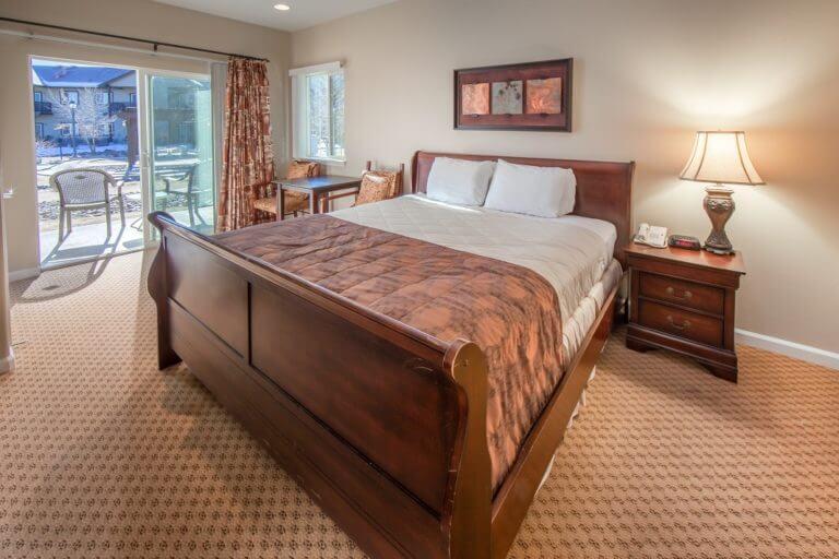 Walley's Hot Springs Resort Room