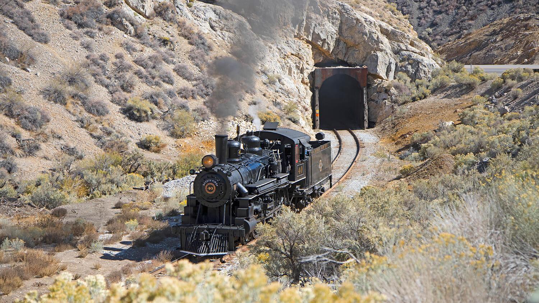 Ely Nevada train