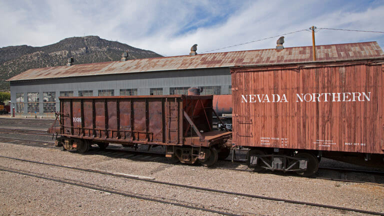 train in nevada northern museum