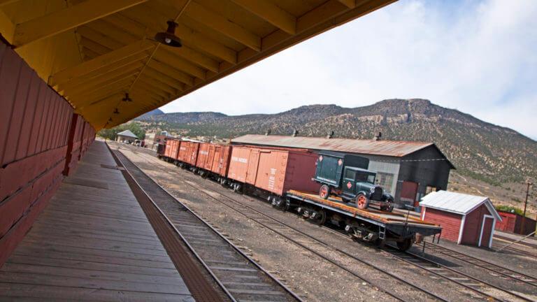 nevada train depot