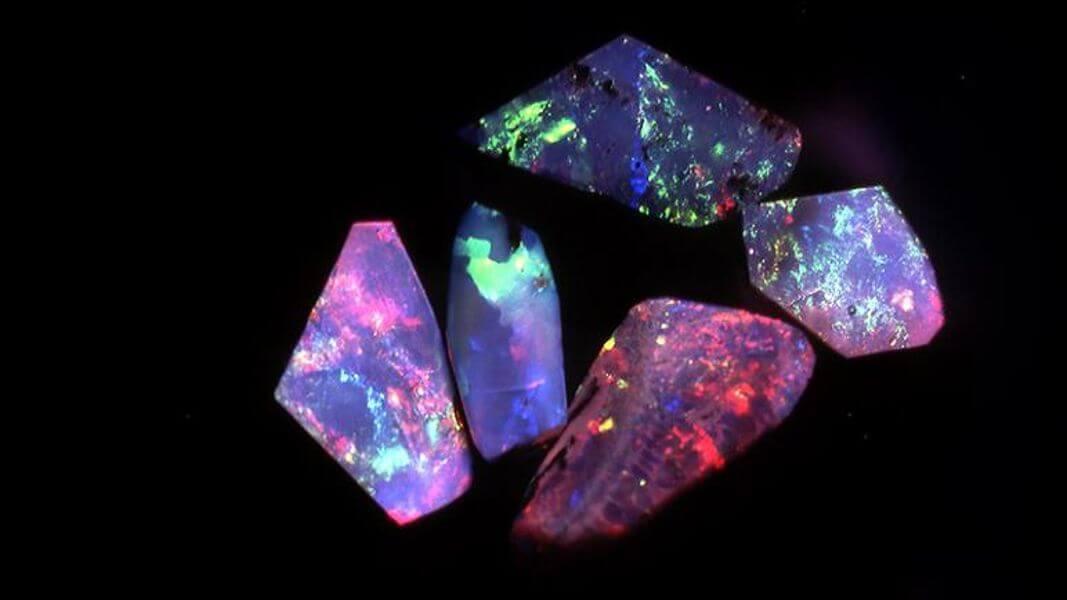 royal peackock opal mine