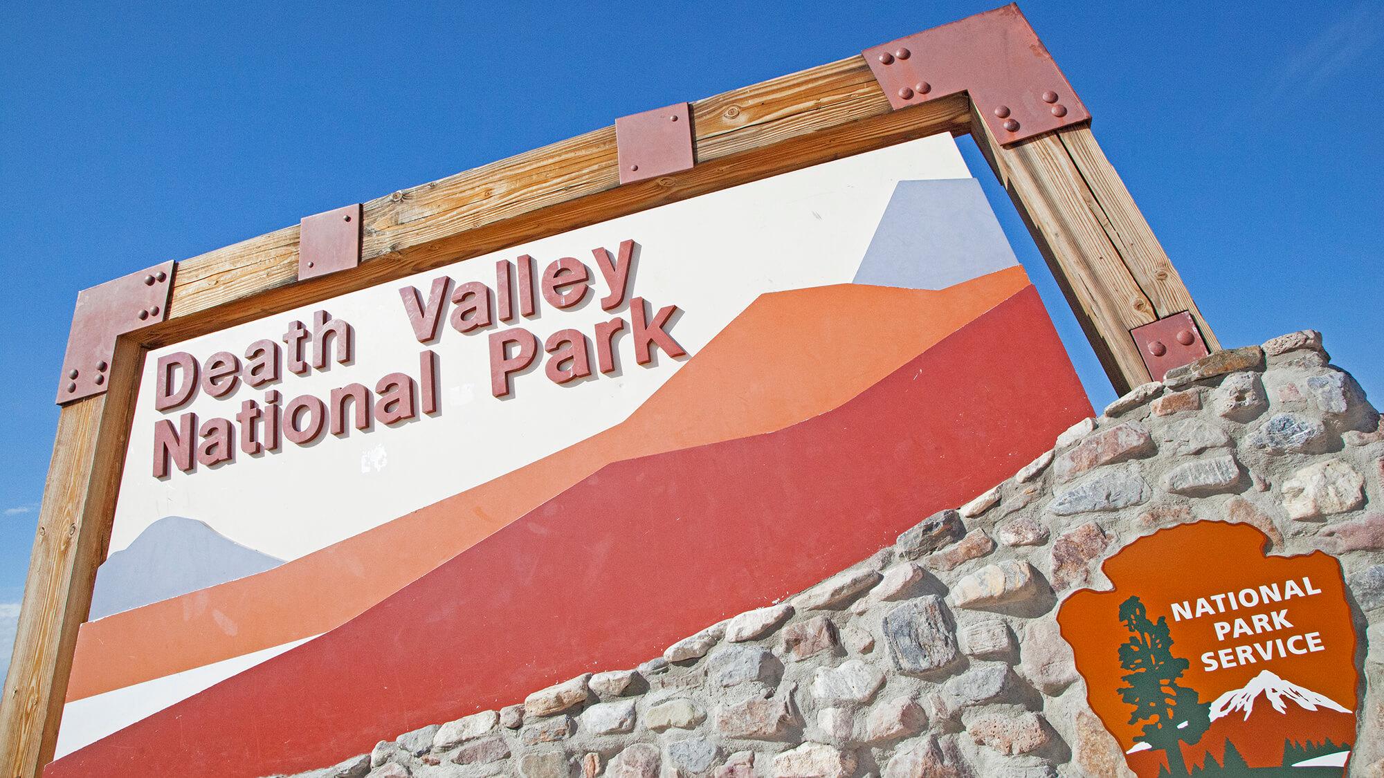 death valley entrance