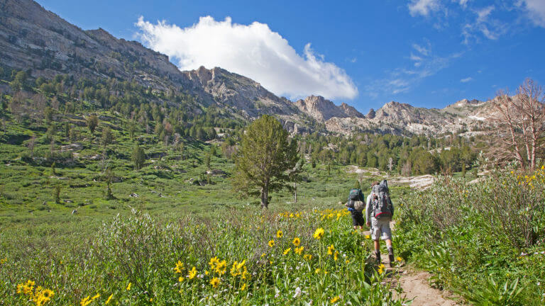 hiking in lamoille canyon & ruby mountains