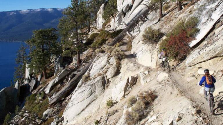 tahoe rim trail mountain biking