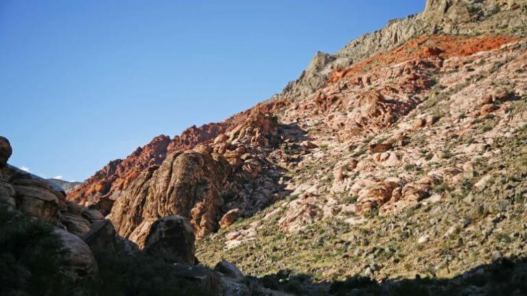 Calico Hills at red rock