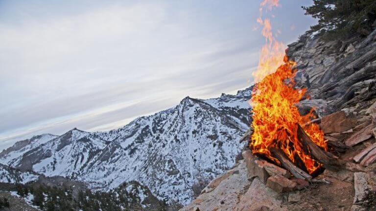 winter camping in ruby mountains nevada