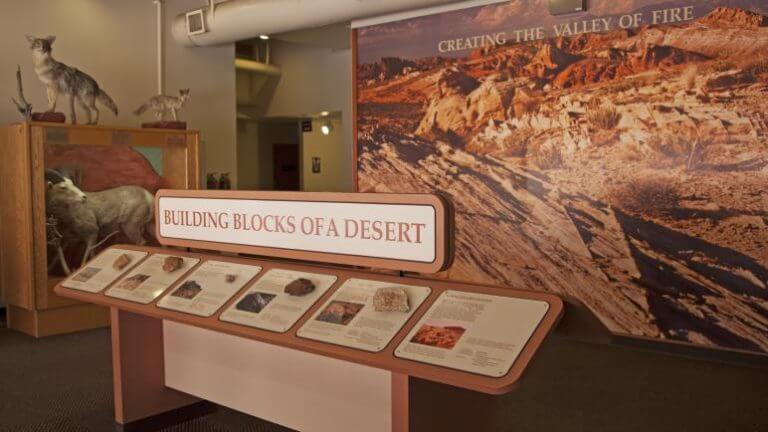 visitor center in Valley of Fire State Park