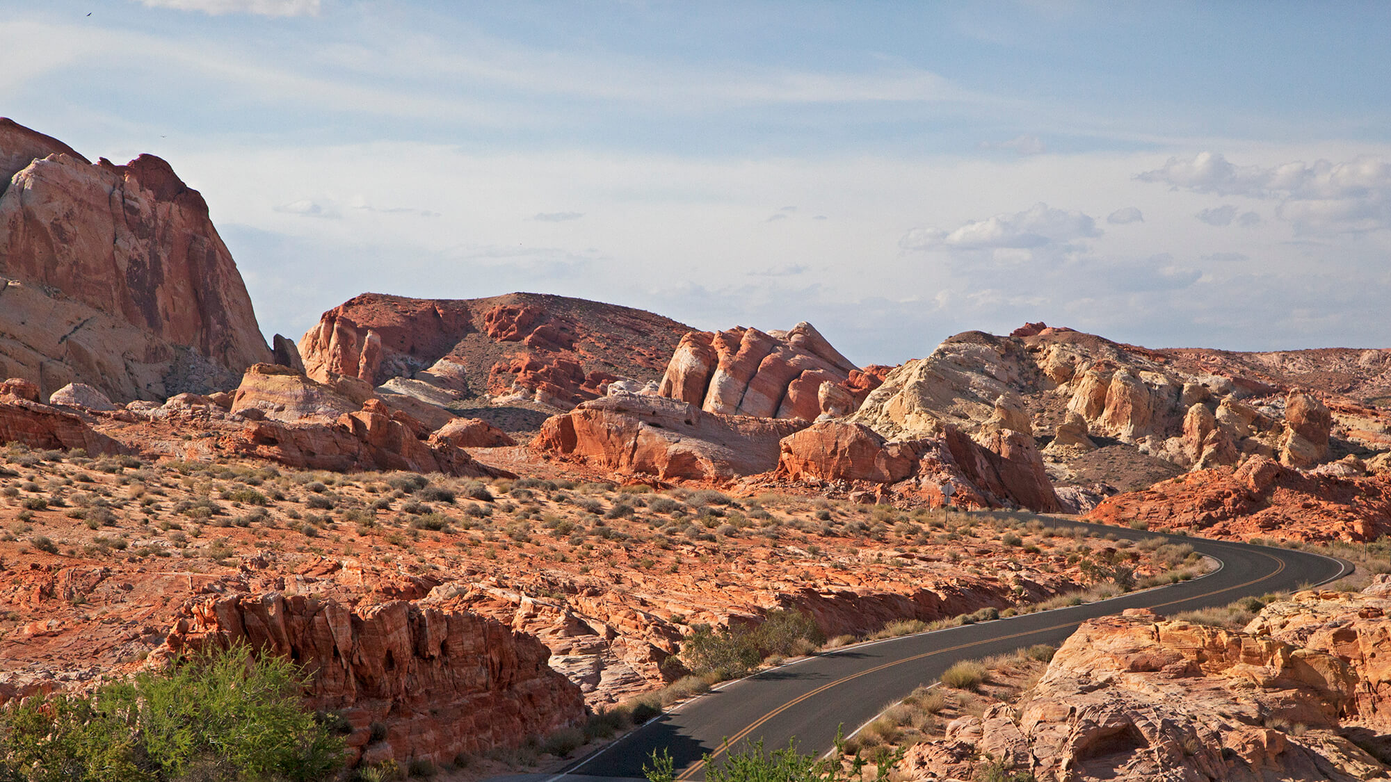 Valley of Fire Hiking