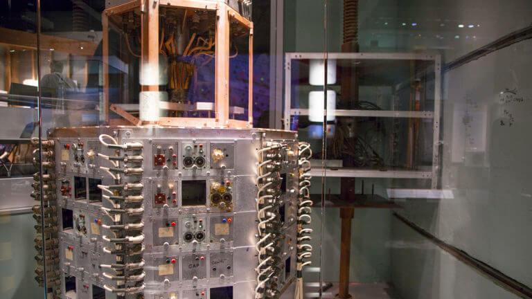 atomic testing museum exhibit