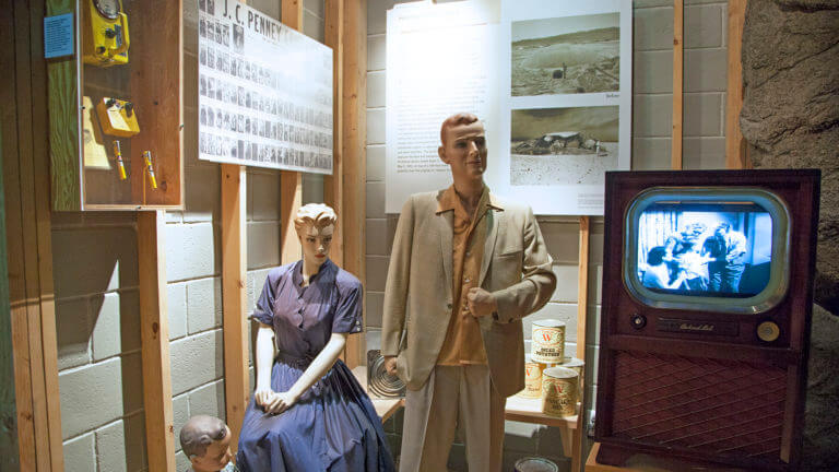 nuclear museum displays