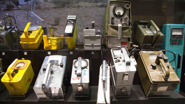 atomic museum las vegas display