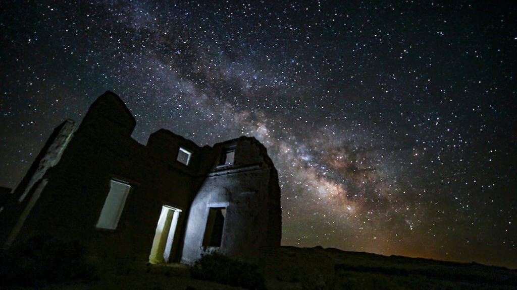 Night skies at Fort Churchill State Historic Park