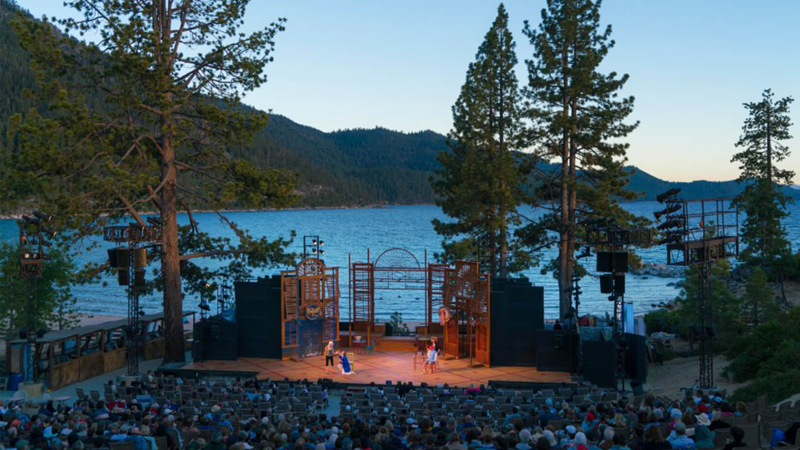 Lake Tahoe Shakespeare Festival Scenic Venue