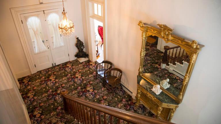 hallway bowers mansion