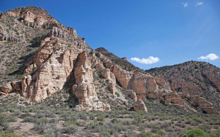 scenic rainbow canyon