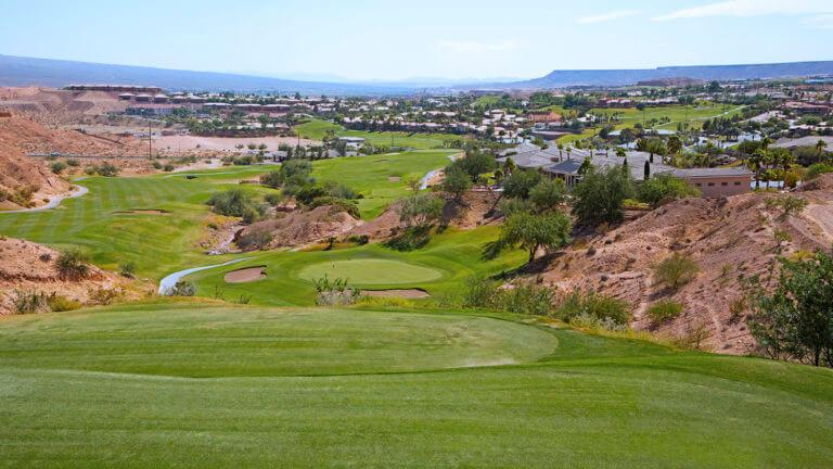 golfing in mesquite