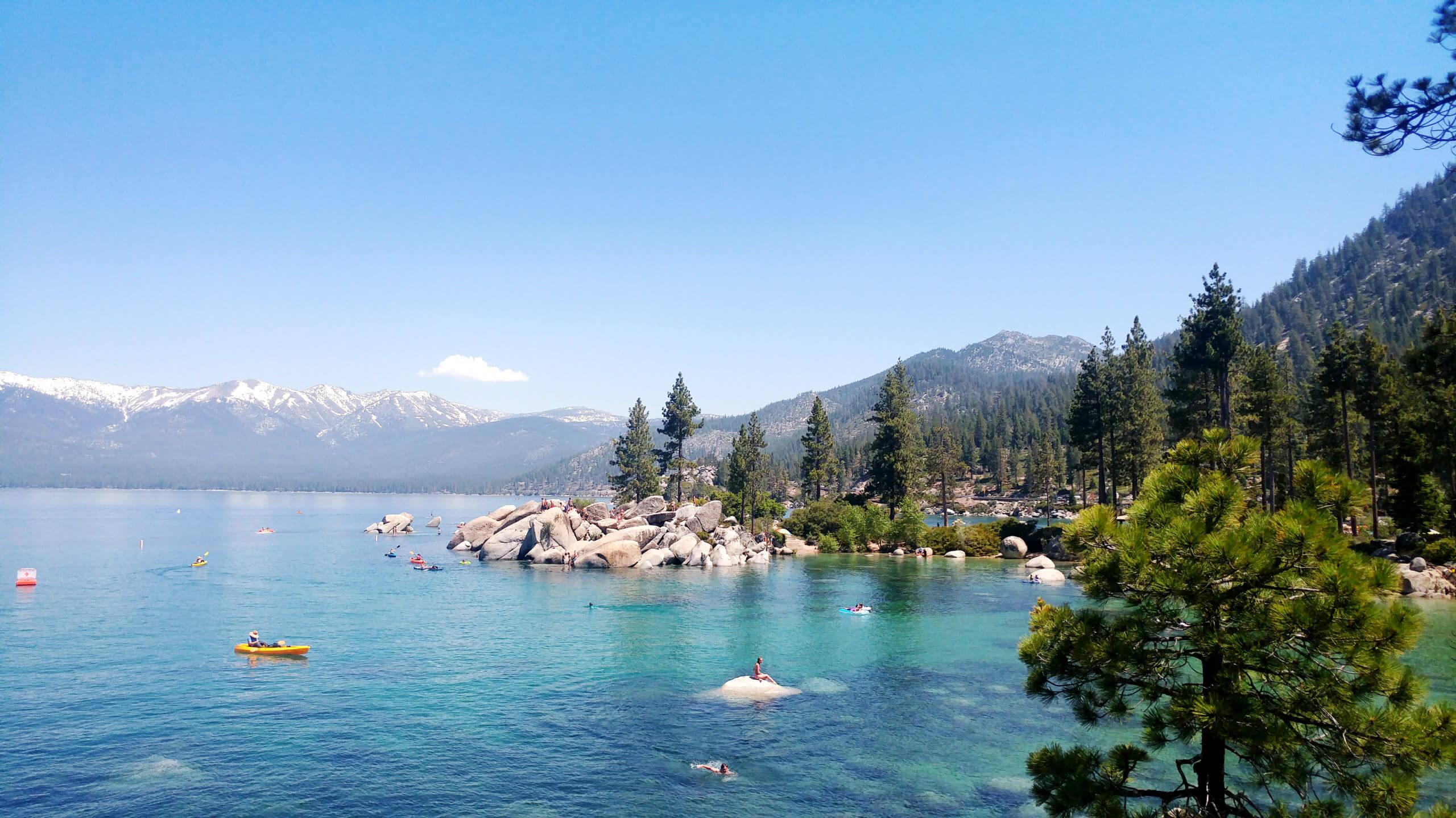 Lake Tahoe Nevada State Park Where Is Lake Tahoe