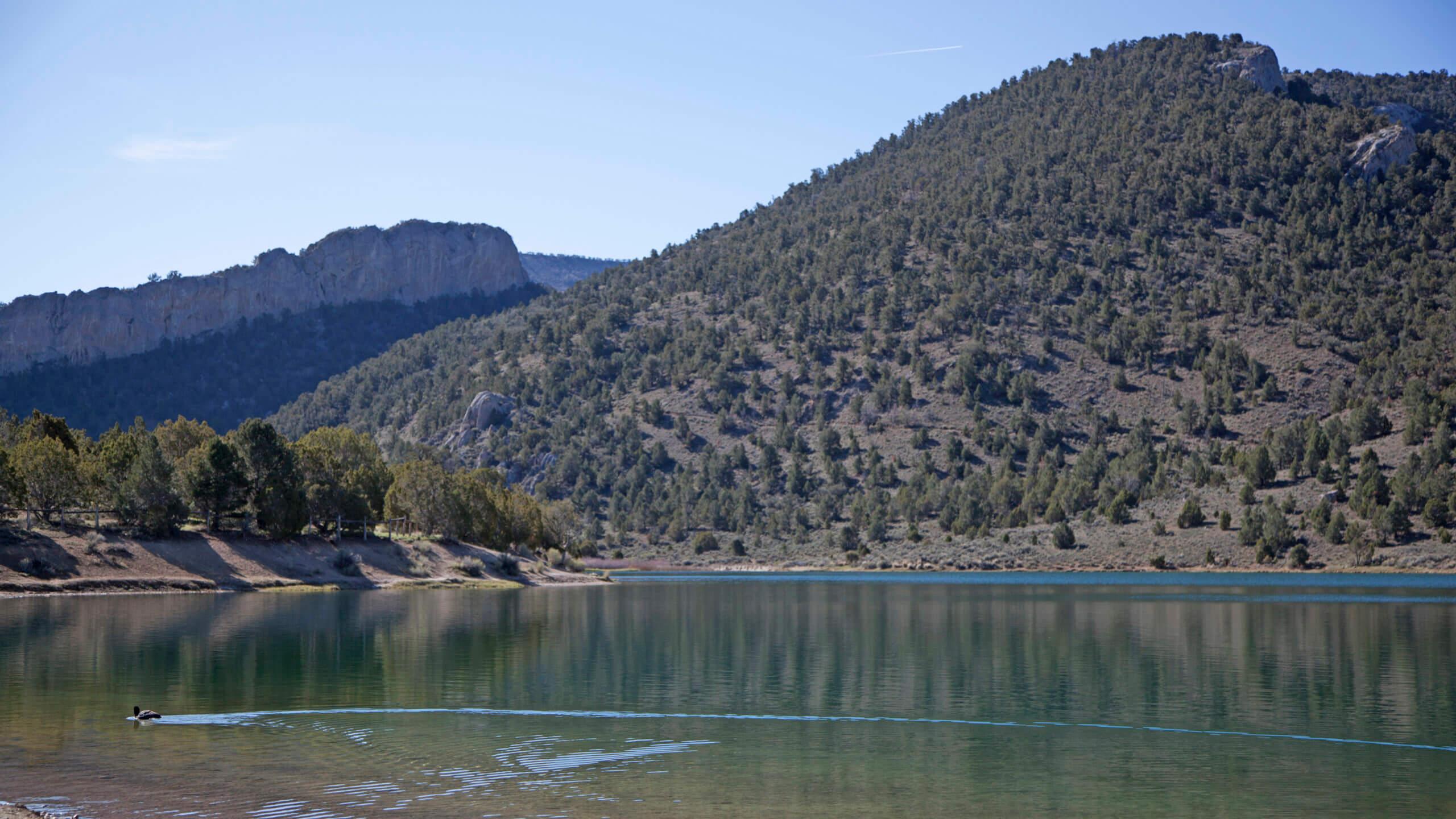 Cave Lake Nevada