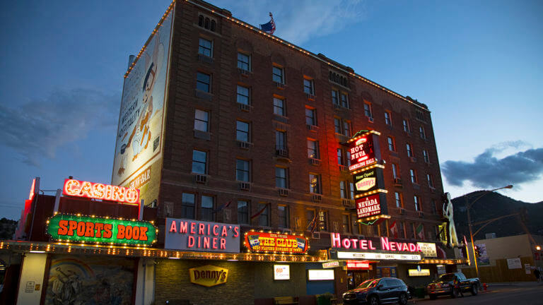 Historic Hotel Nevada & Gambling Hall