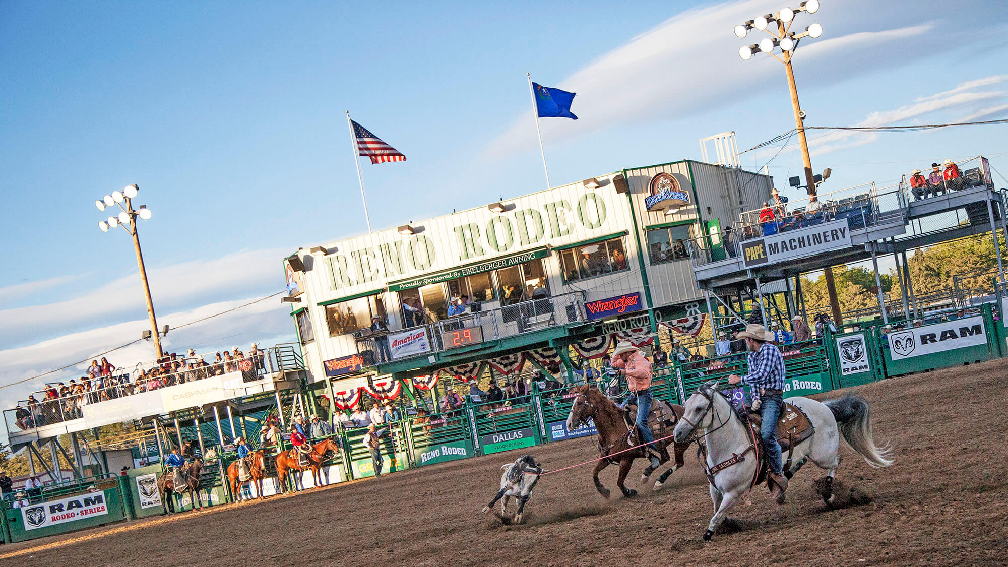 rodeos in the West