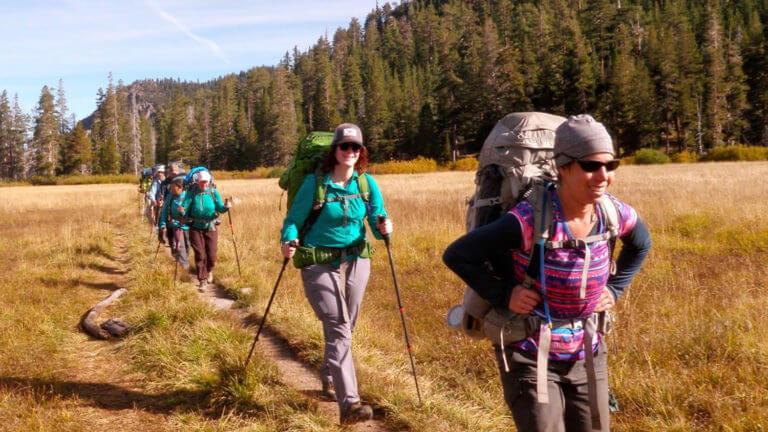 tahoe rim trail hiking