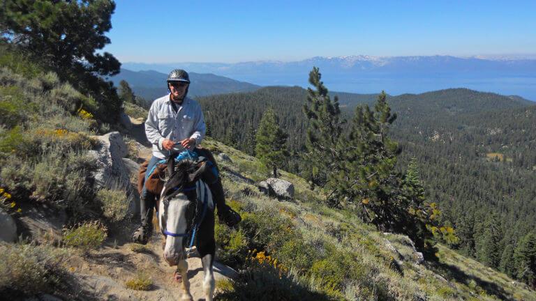 tahoe rim trail horseback riding