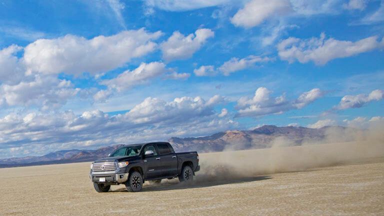 driving black rock desert