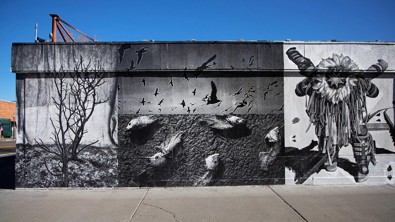 Navajo Nation, AZ mural