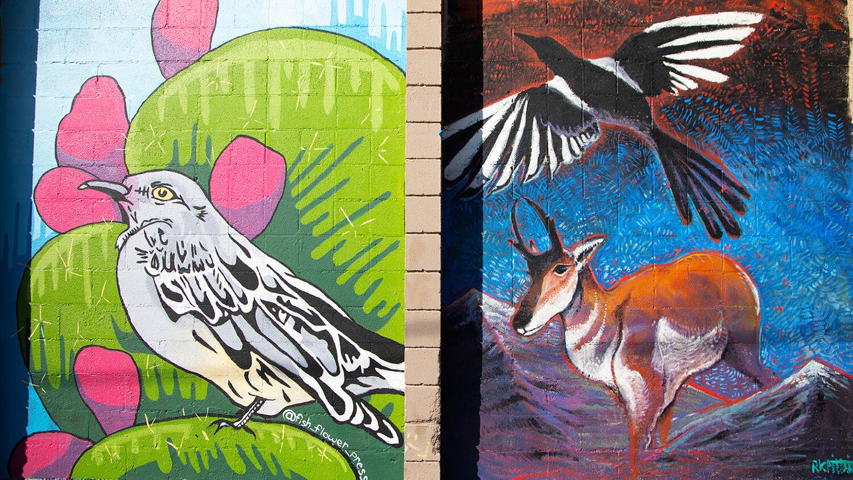 reno animal mural