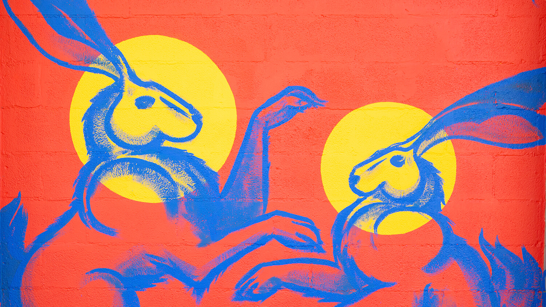 Jack OFF mural