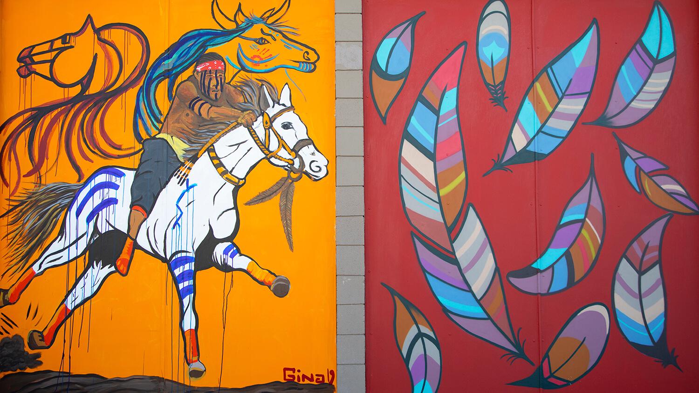 spirit racer mural