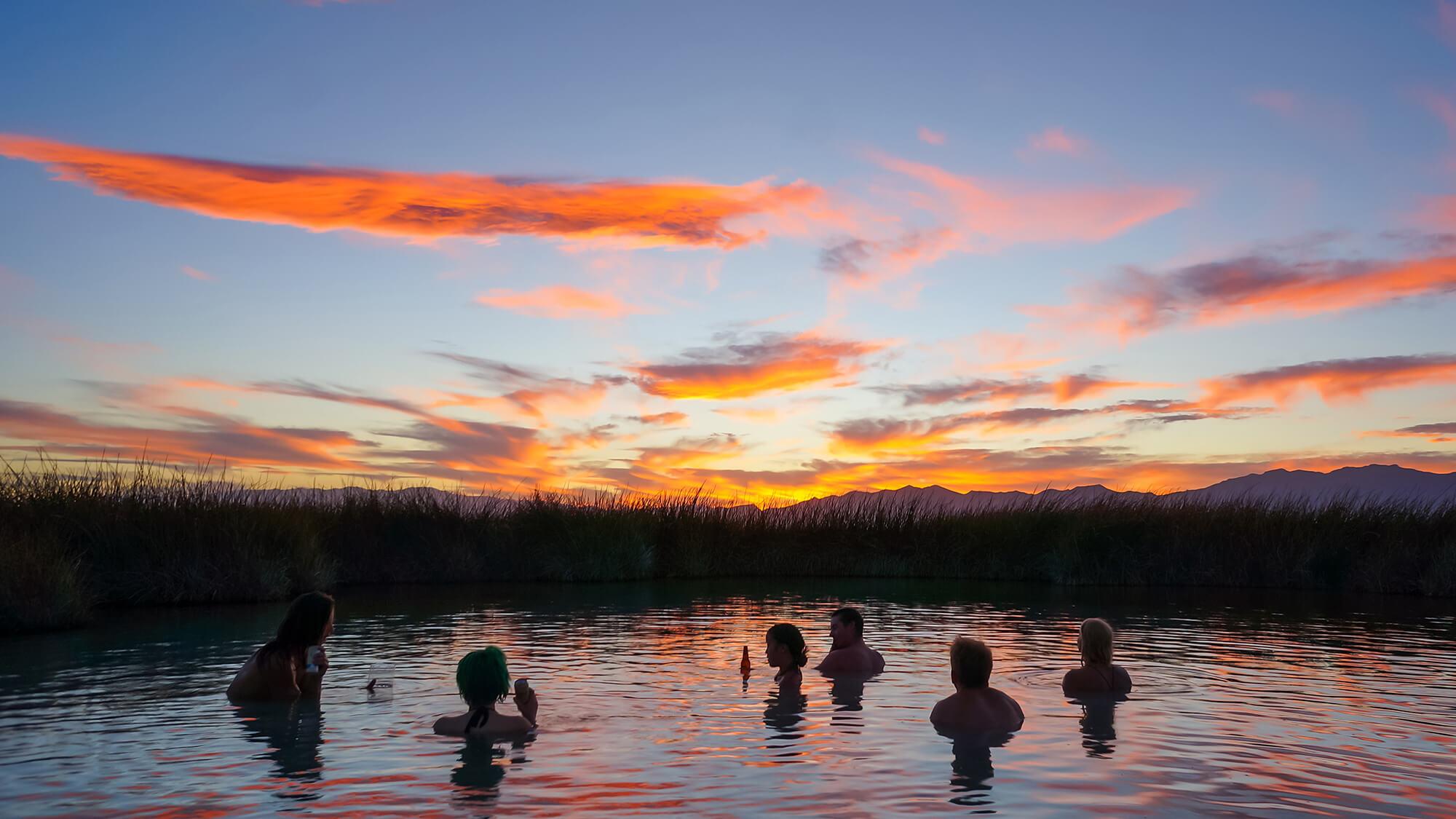 Natural Nevada Hot Springs