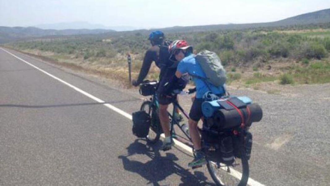 journey to cycle across America
