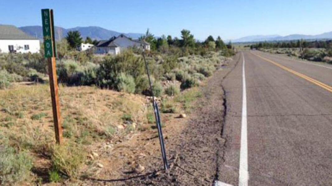 cycling across Nevada