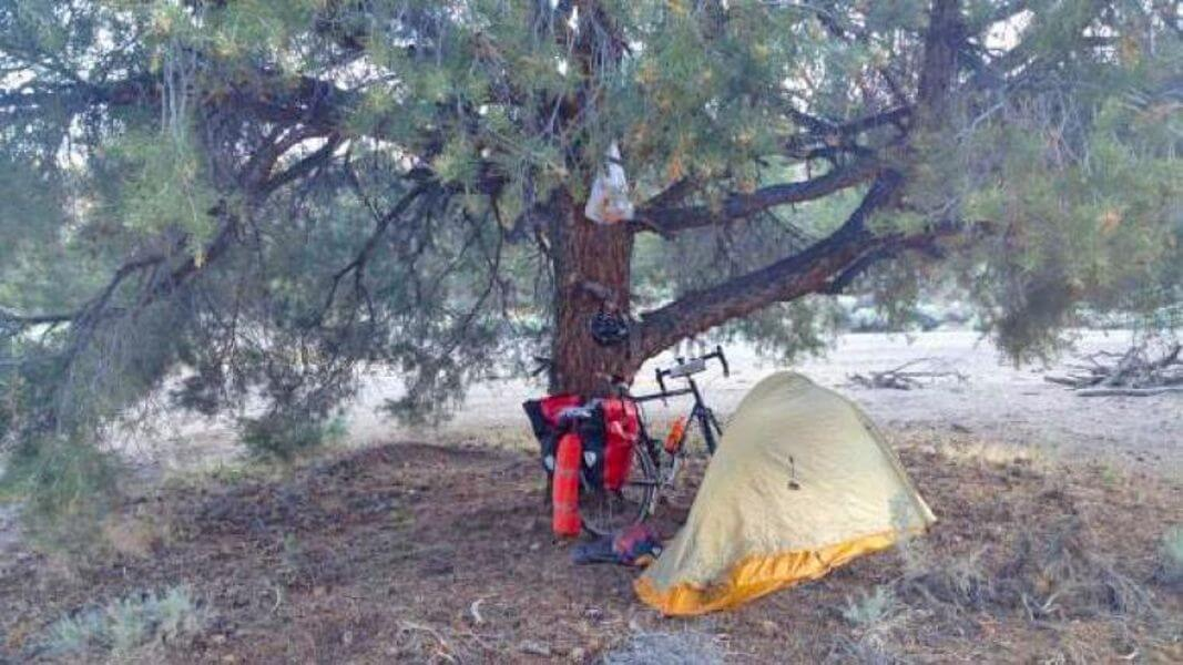 Camping along the Western Express Route