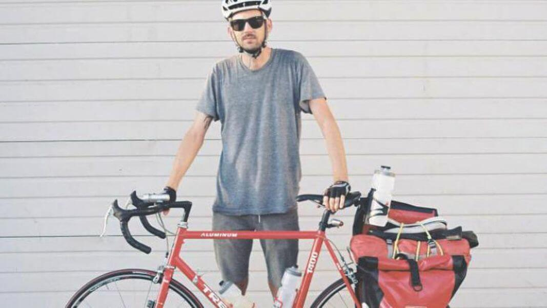 Getting ready to cycle across America