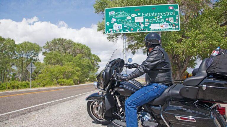 ET highway biker tour