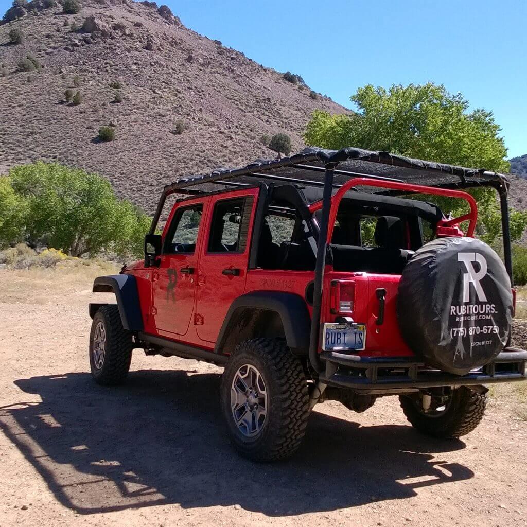 RubiTours Jeep Tours Nevada
