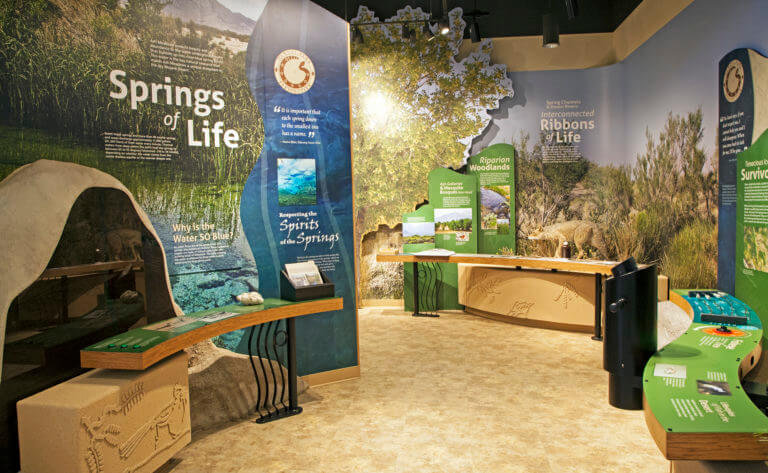 fish and wildlife service visitor center in ash meadows